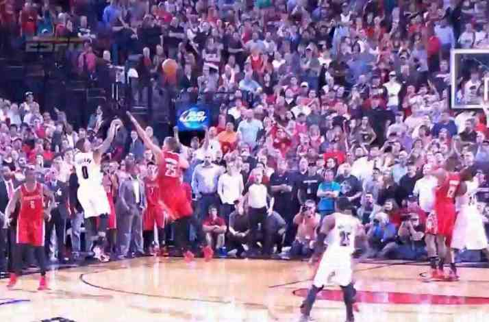 Damian Lillard's buzzer beater against Houston