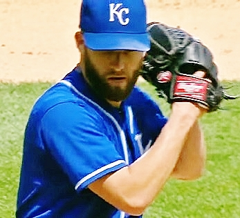 Danny Duffy Kansas City Royals pitcher