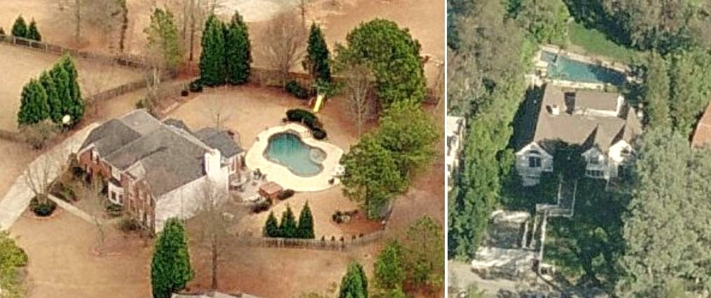 Devon Werkheiser home Duluth, Georgia - aerial house picture of Ned Bigby Devon Werkheiser's house in Duluth, GA and Los Angeles, California
