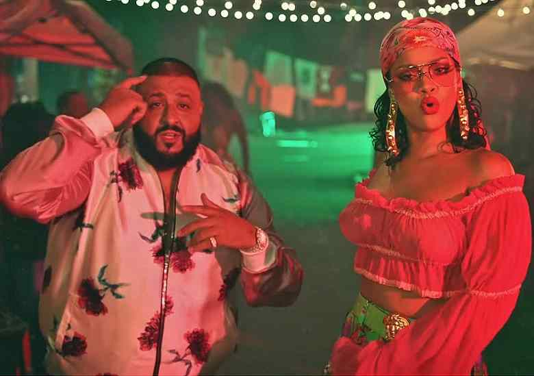 DJ Khaled and Rihanna
