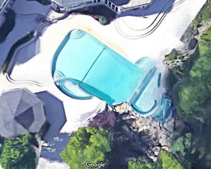 Eminem's Swimming Pool Rochester Hills, Michigan