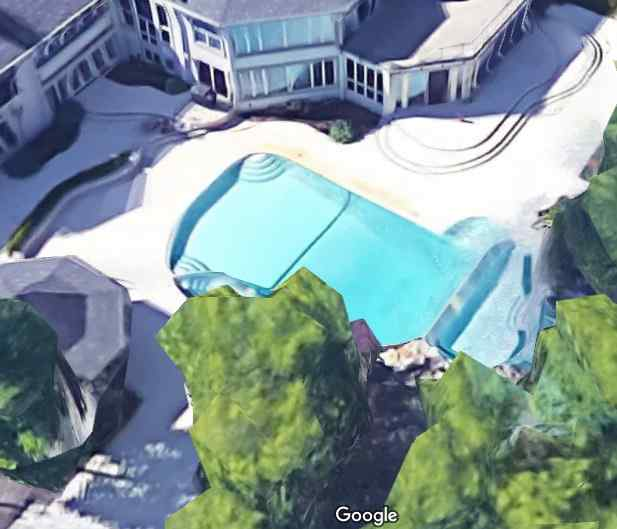 Eminem's Swimming Pool Rochester Hills, Michigan