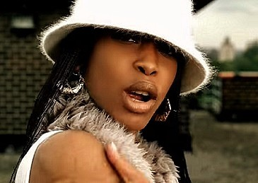 Erykah Badu - from the video for the song Love Of My Life