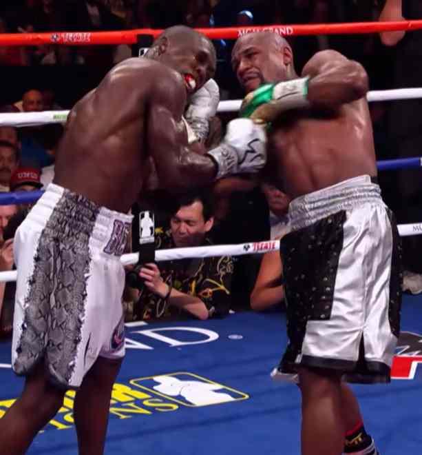 Floyd Mayweather Jr. vs. Andre Berto Images