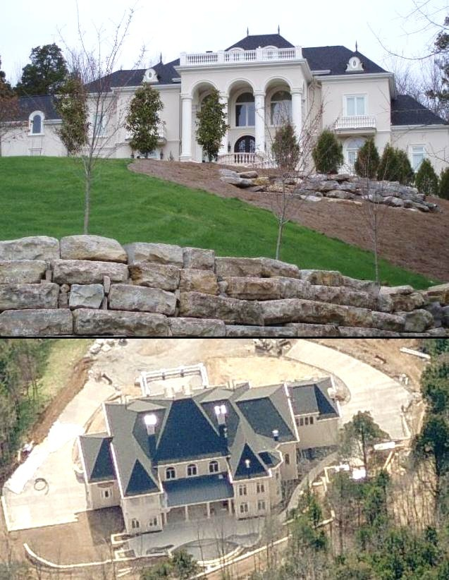 Gary levox house in nashville tennessee celebrity houses for Nashville tn celebrity homes