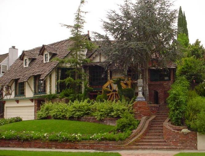Glenn Danzig house pictures, Los Angeles - former home of Lucille Ball