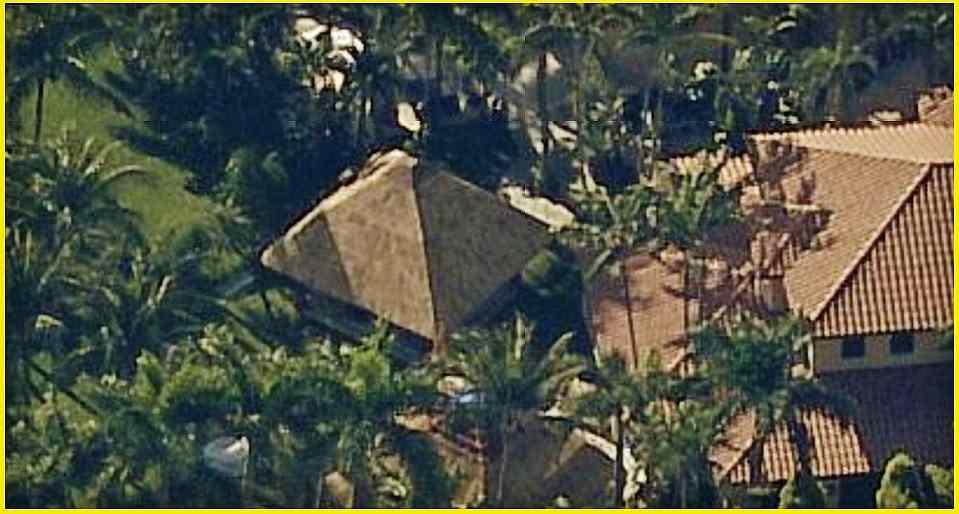 New cabana roof