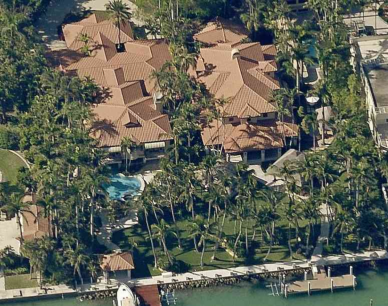 Gloria Estefan's home on Miami Beach's Star Island
