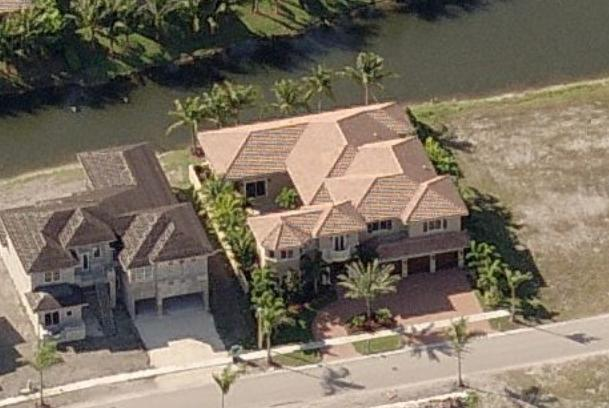 Jake Long's house in Plantation, Florida