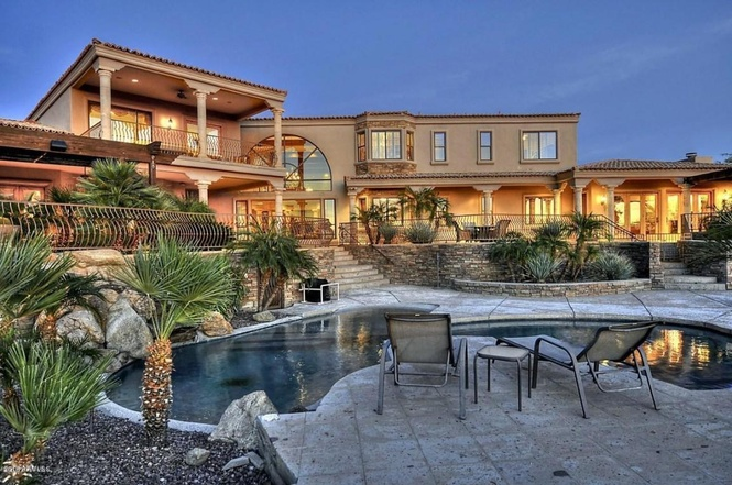 Jared Allen' house