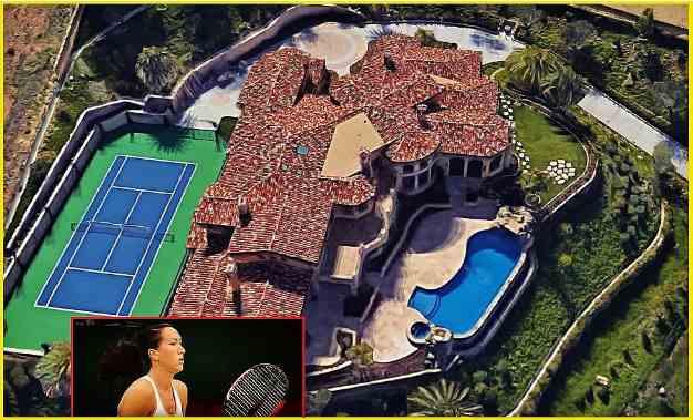 Jelena Jankovic's home