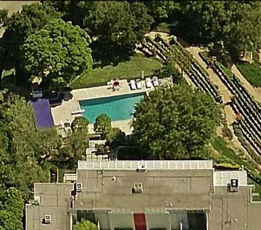 Nicki Minaj's Swimming Pool Bel Air