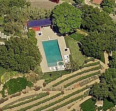 Nicki Minaj's Swimming Pool Bel Air