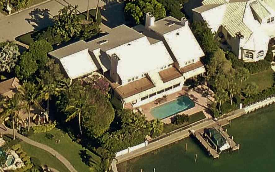 Jerry Springer's home on Bird Key Sarasota