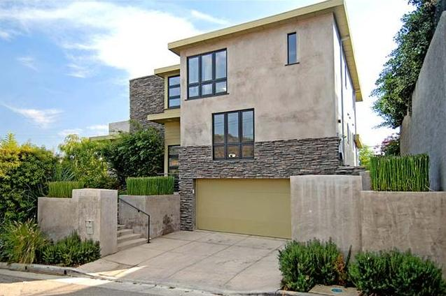 Jillian Michaels house in the Hollywood Hills area of Los Angeles, CA