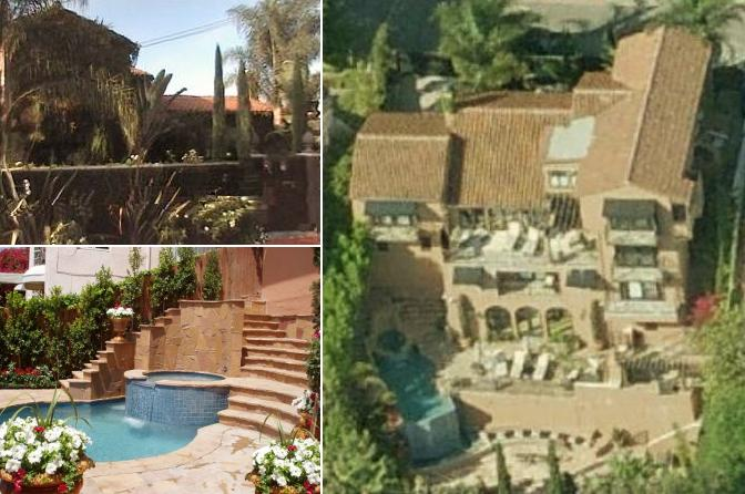 Philip Clapp - Johnny Knoxville's house in Los Angeles California - pictures