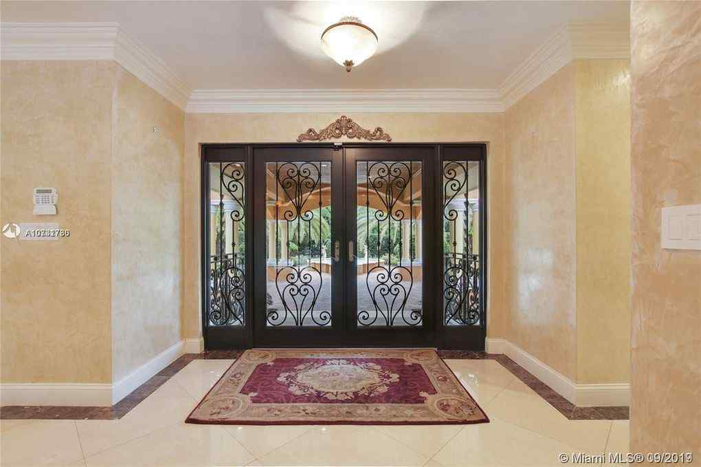 Picture of Jorge Masvidal's mansion in Miami, Florida's Kendall community.