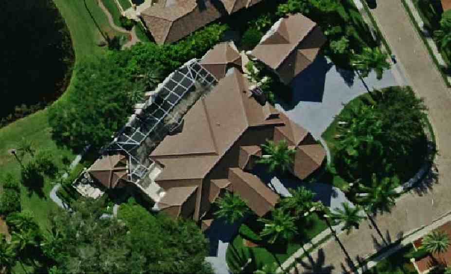 photo of Judge Judy's house - Naples, Florida