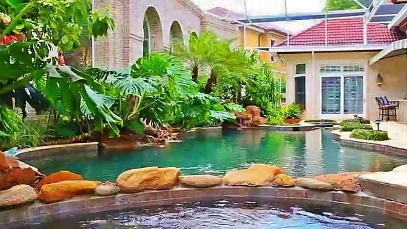 Judge Judy's Swimming Pool Naples, Florida
