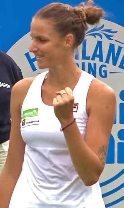 Karolina Pliskova 2017 Aegon International