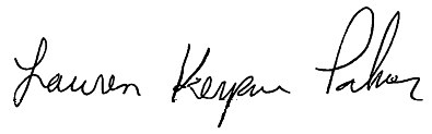 KeKe Palmer signature