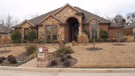 Kelly Clarkson's first home purchase - Mansfield, Texas - house picture