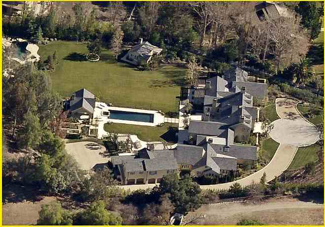 Kim and Kanye's Hidden Hills, CA home - Historical info and photos