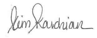 Kim Kardashian Signature
