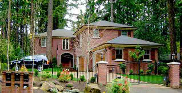 photos of LaMarcus Aldridge house - Lake Oswego, OR - home pictures