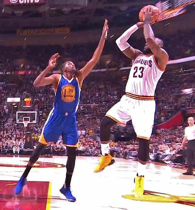 Lebron James - Game 4 2017 Playoffs Cavs vs Warriors