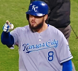 Mike Moustakas Kansas City Royals pitcher