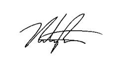 Nate Ruess Signature