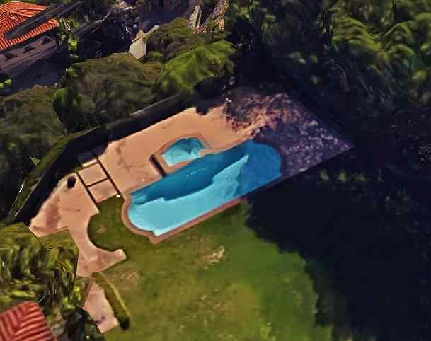 Nicki Minaj's Swimming Pool Beverly Hills