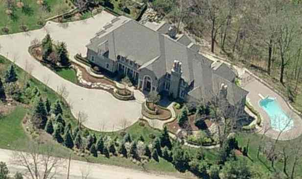 Rasheed Wallace house Rochester Hills, Michigan