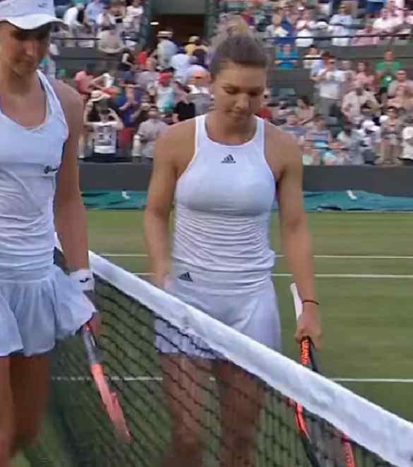 Simona Halep Wimbledon 2017 second round