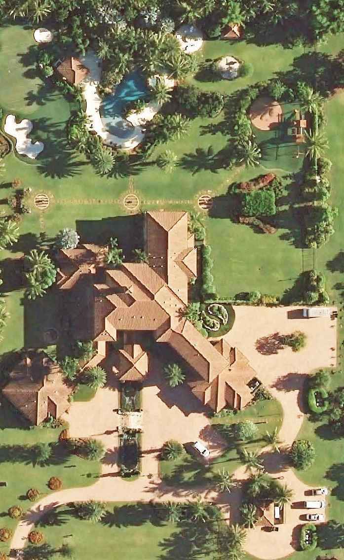tiger woods u0026 39  home in jupiter  fl