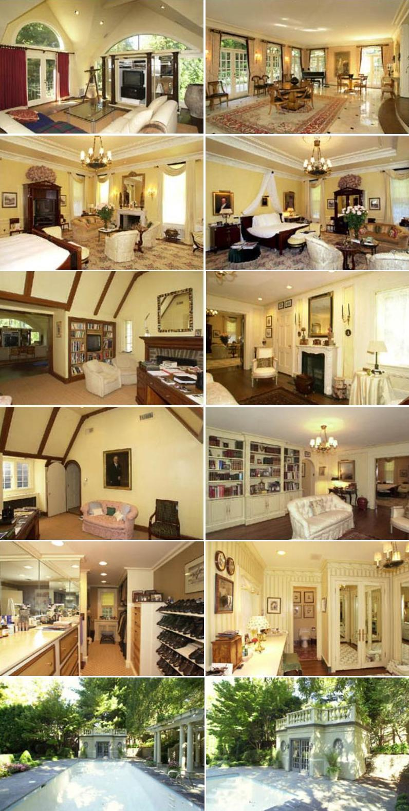 Tim Russert home profile - Tim Russert's house in Washington DC - pictures