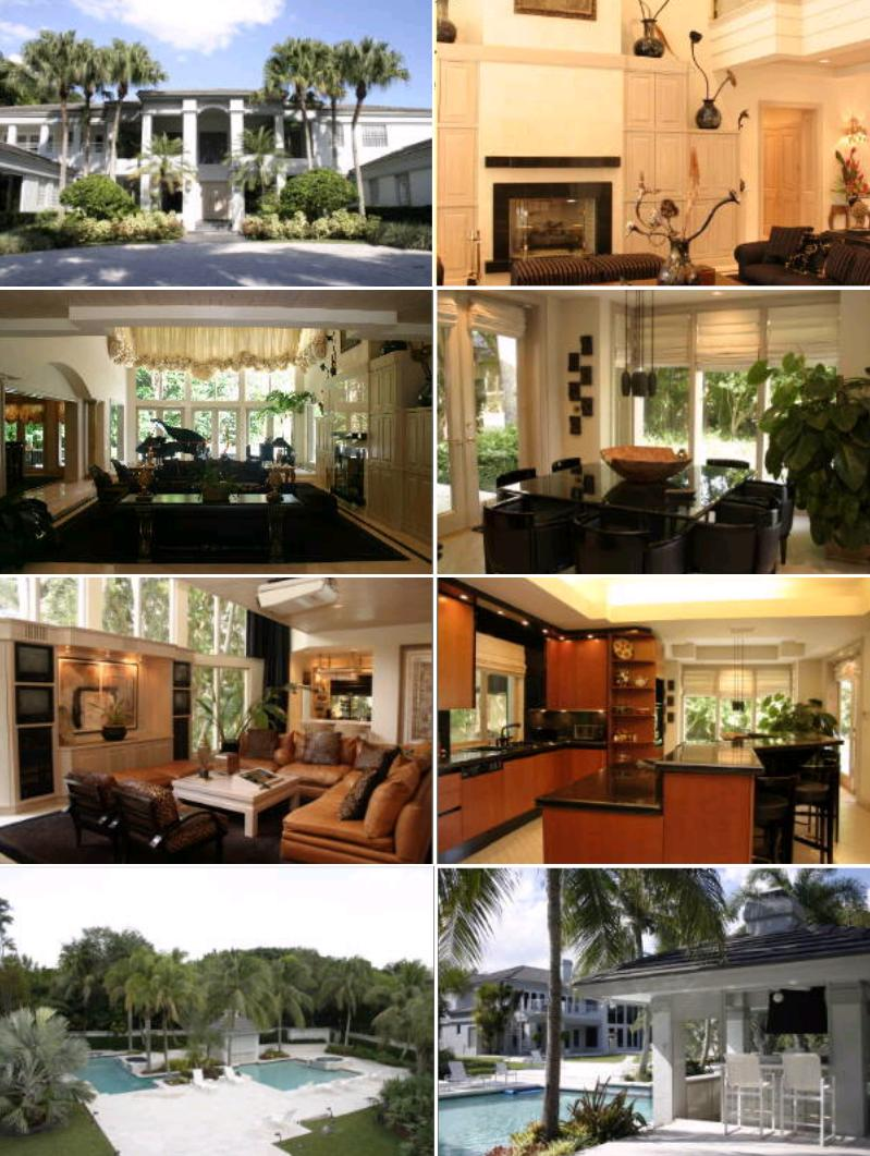 photo: house/residence of cool friendly enchanting  85 million earning Miami, Florida, United States-resident
