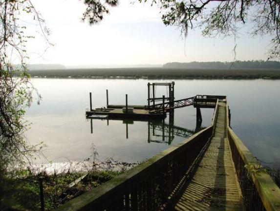 Tom Berenger's home Okatie, South Carolina near Beaufort