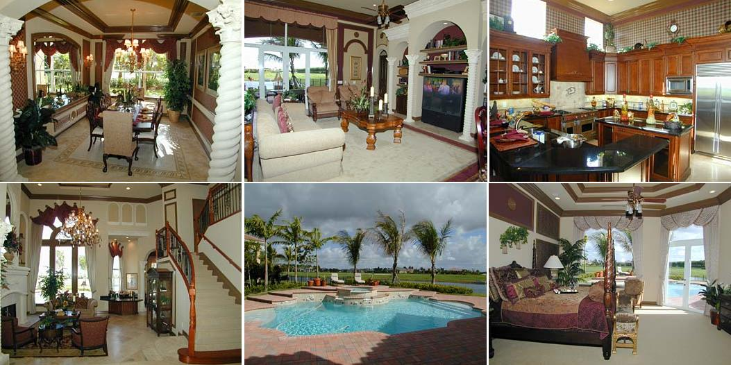 Tony Sparano house Davie, Florida - pictures, photos of celebrity homes and mansion, aerial photos of celebrity houses and mansion
