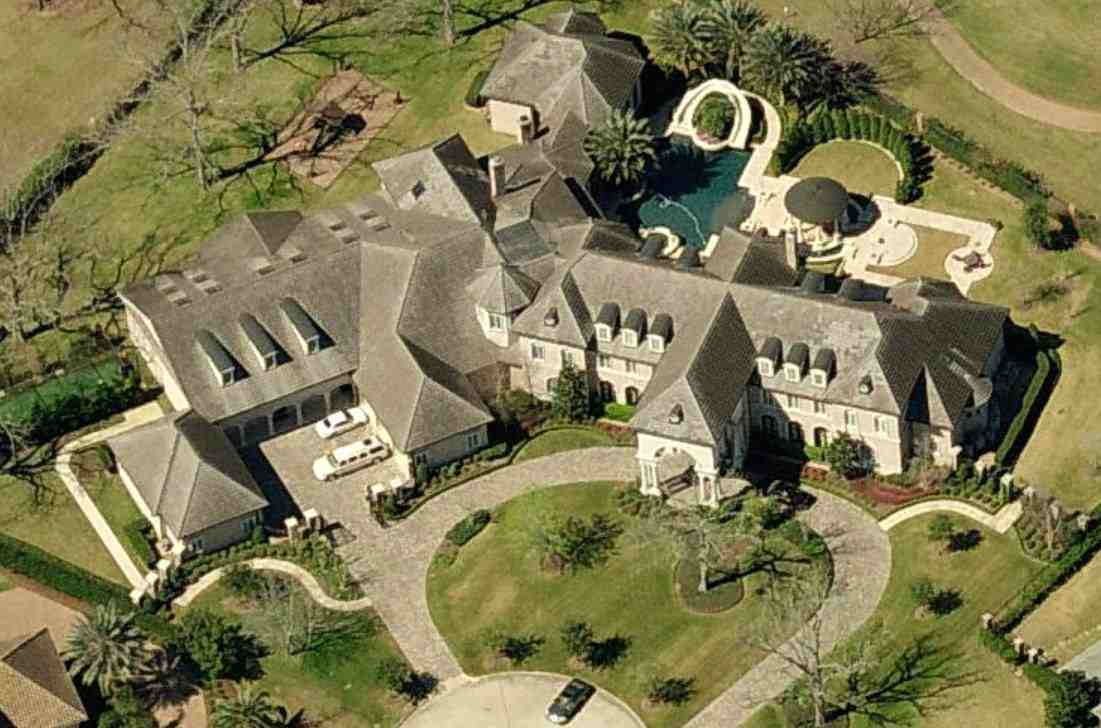 Tracy McGrady's mansion in Sugar Land, Texas