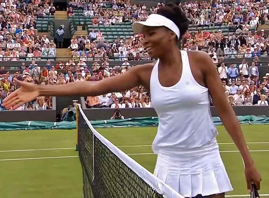 Venus Williams Wimbledon 2017 first round