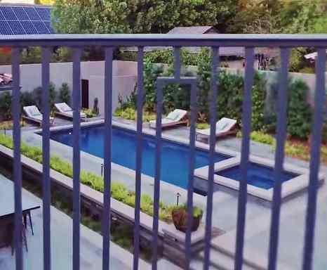 Viola Davis' Swimming Pool Toluca Lake