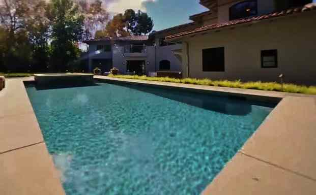 Viola Davis' Swimming Pool Toluca Lake