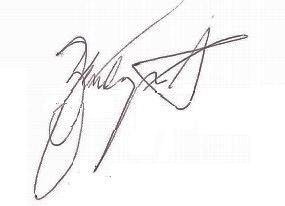 Zendaya Coleman's signature