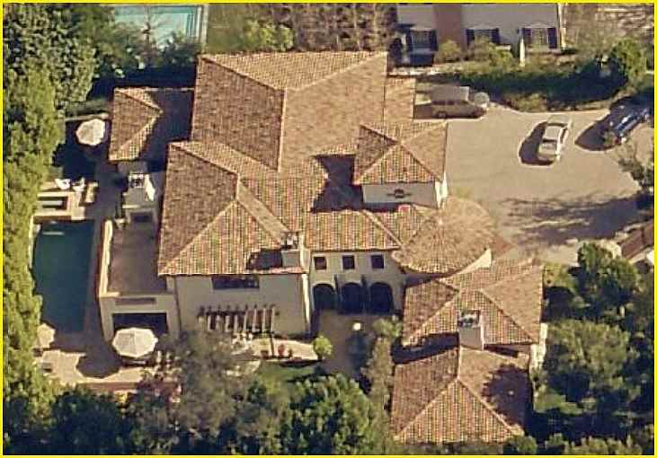 Ziggy Marley's home Toluca Lake, CA - Photo and Rare Facts